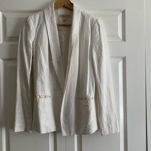Michael Kors white linen blazer Sz. 4